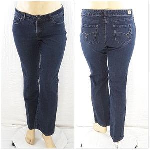 *PLUS* BANDOLINO BLU, Natalia, Denim Jeans, sz 16
